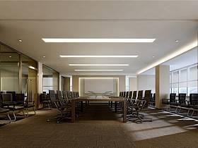 现代会议室装修案例