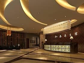 中式中式风格大厅效果图
