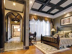 新古典古典新古典风格古典风格卧室别墅设计案例展示