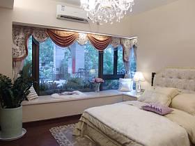 欧式欧式风格卧室窗帘设计案例