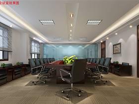 现代会议室设计案例展示