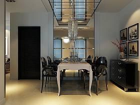 欧式餐厅吊顶设计案例