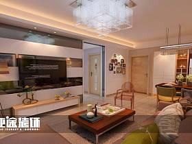 现代简约现代简约简约风格现代简约风格客厅二居设计方案