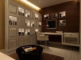 现代书房设计案例展示