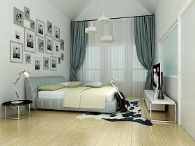 现代简约现代简约简约风格现代简约风格卧室效果图