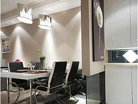 现代简约时尚餐厅玄关隔断玄关柜设计案例