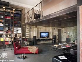 客厅卧室楼梯书柜整体书柜案例展示