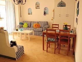 希腊窗帘背景墙沙发电视背景墙马赛克设计案例展示