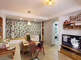 卧室餐厅卫生间餐桌折叠桌移门设计案例