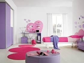 现代简约儿童房柜子装修图