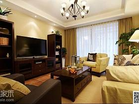 客厅电视柜装修案例