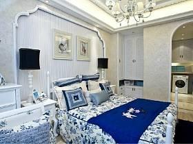地中海清新地中海风格卧室装修效果展示