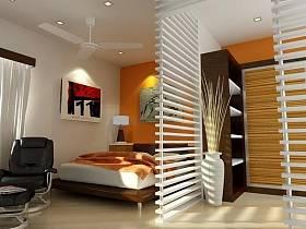 单身公寓隔断设计案例