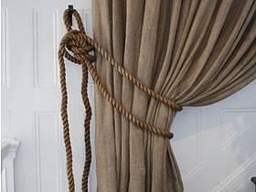 自然厨房窗帘设计案例