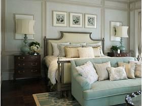 温馨卧室沙发卧室沙发设计案例展示