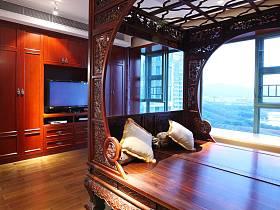 中式明清卧室设计图