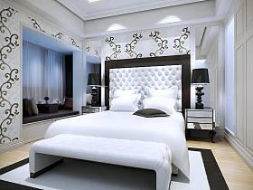 现代简约简欧卧室设计案例展示
