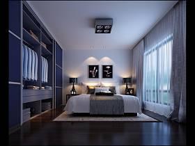 现代简约简欧卧室装修效果展示