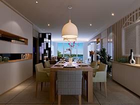 现代简约餐厅设计案例展示