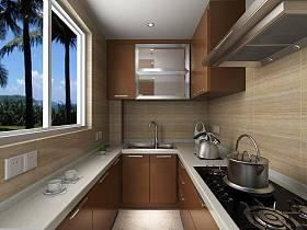 现代简约厨房设计案例展示