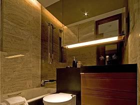 现代简约卫生间收纳设计案例展示