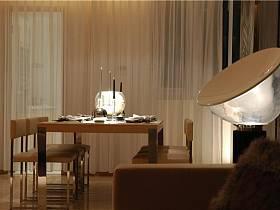 现代简约餐厅台灯设计图