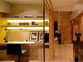 现代简约书房收纳设计案例
