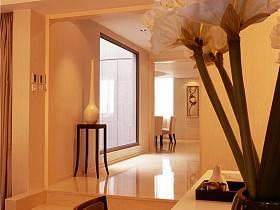 现代简约玄关走廊玄关柜设计图