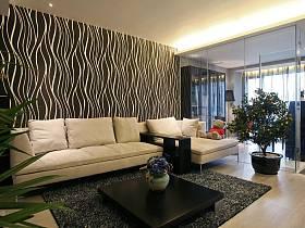 现代简约创意客厅设计案例展示