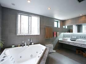 现代简约卫生间浴室案例展示