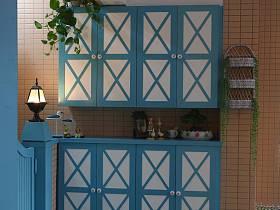 地中海创意玄关玄关柜装修效果展示