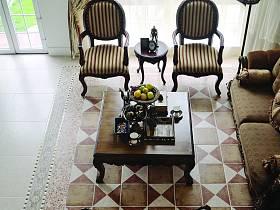 复古客厅设计案例