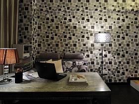 现代简约创意书房装修效果展示