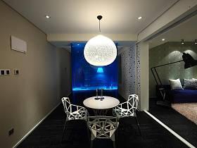 后现代创意卧室书房多功能室设计方案