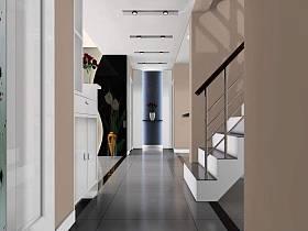现代简约走廊装修图