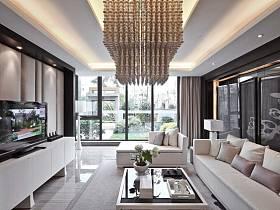 现代简约后现代客厅设计案例展示