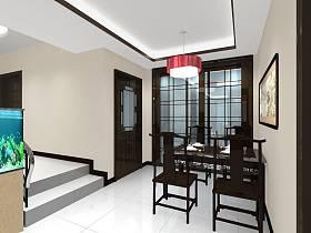 中式明清餐厅装修效果展示