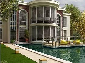 欧式欧式风格别墅案例展示