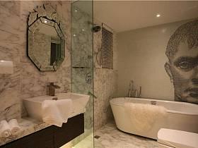 现代简约浴室淋浴房设计案例