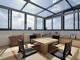 日式多功能室设计方案