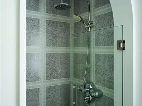 现代简约美式混搭浴室设计案例