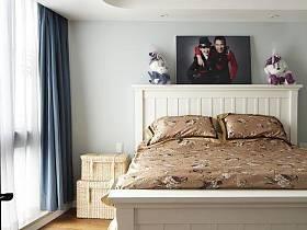 美式美式风格卧室装修图