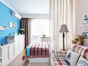 其他风格浪漫客厅卧室隔断设计图