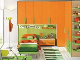 现代简约儿童房设计图