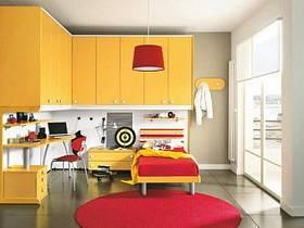 现代简约儿童房设计方案