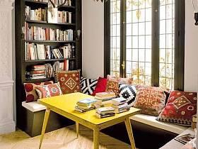 客厅书架设计案例