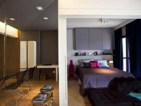 简约时尚卧室餐厅设计案例展示