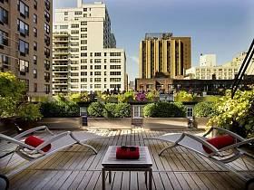 阳台休闲区图片