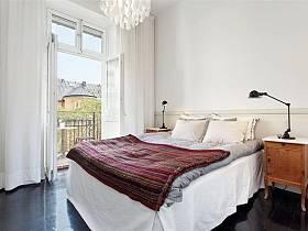 北欧后现代现代简约北欧风格卧室设计案例