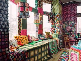 田园自然田园风格餐厅窗帘柜子设计图